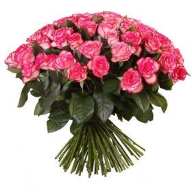 букет 101 джумилия роза