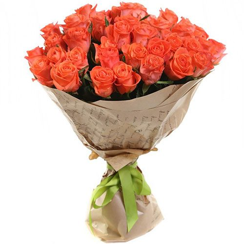 "букет 51 роза ""Вау"""