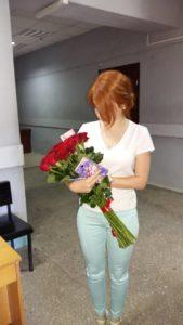 фото красные розы