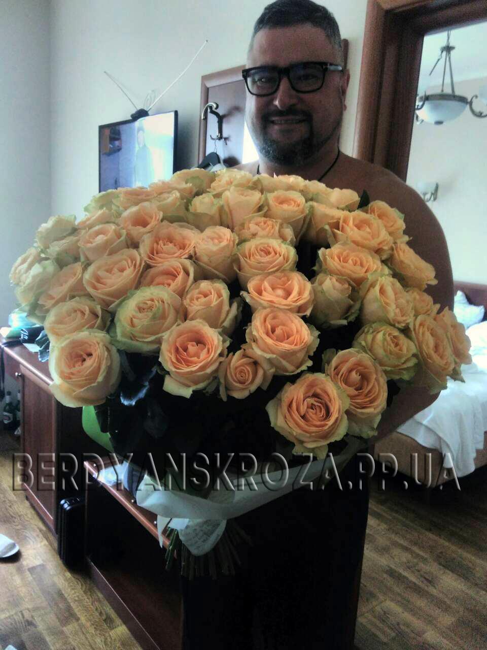 кремовые розы фотоотчет