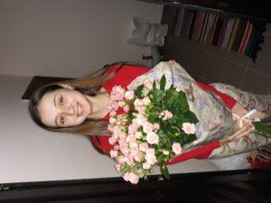 кустовые розы фотоотчет