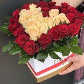 51 роза сердце
