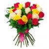 букет 21 роза микс
