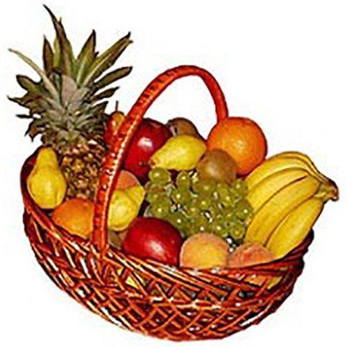 Большая корзина фруктов картинка