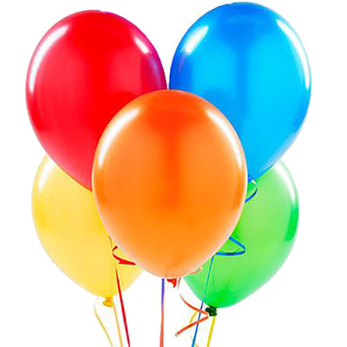 5 воздушных шариков на день рождения