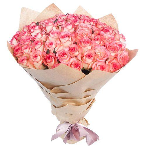 """Букет роз """"Джумилия"""" фото"""