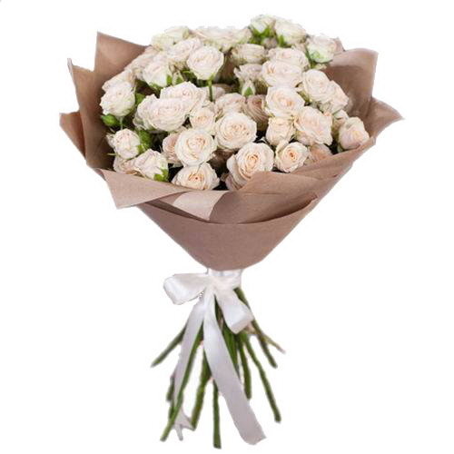 Фото товара 15 кустовых роз