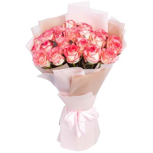 """Фото товара 25 роз """"Джумилия"""""""