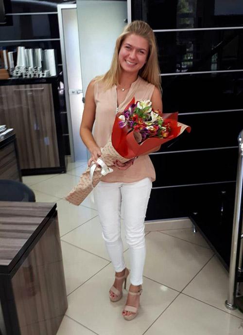 фото доставки цветов в Бердянске
