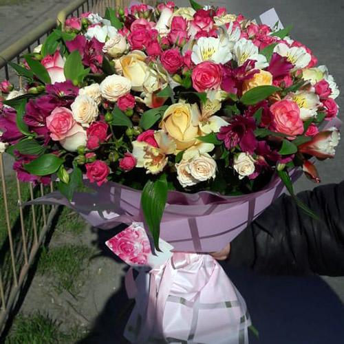 букет цветов в Бердянске