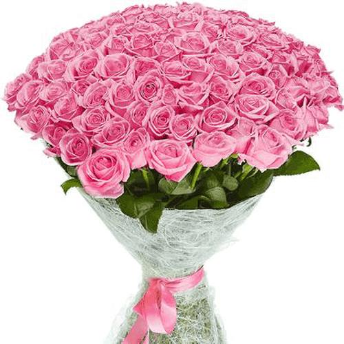 """Фото товара 101 троянда """"Аква"""""""
