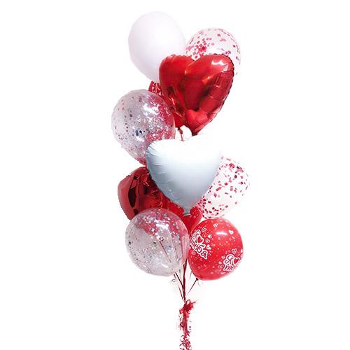 Фото товара Повітряний фонтан (15 кульок)