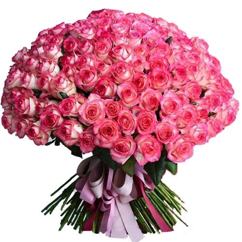 """Фото товара 101 троянда """"Джумілія"""""""