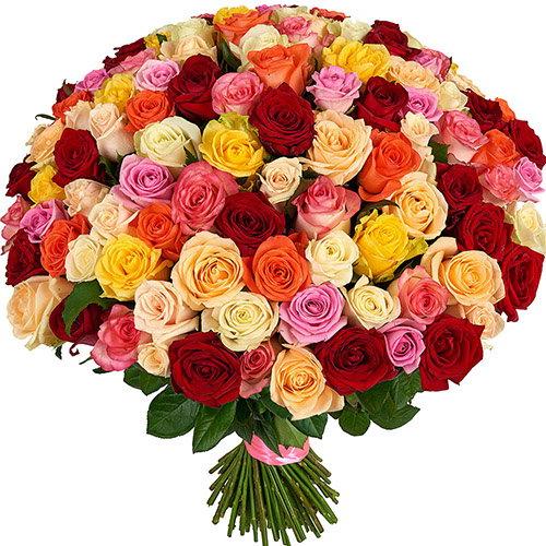 Фото товара 101 троянда мікс