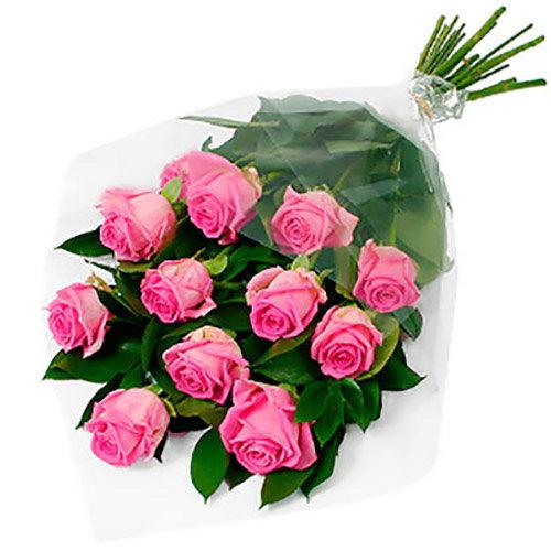 """Фото товара 11 троянд """"Аква"""""""