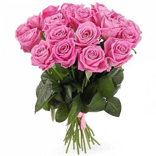 """Фото товара 21 троянда """"Аква"""""""