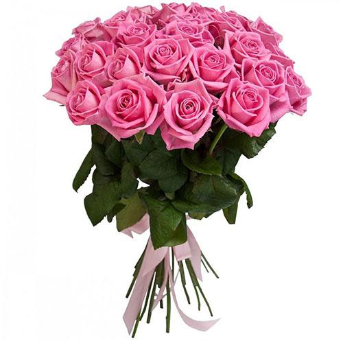 """Фото товара 25 троянд """"Аква"""""""