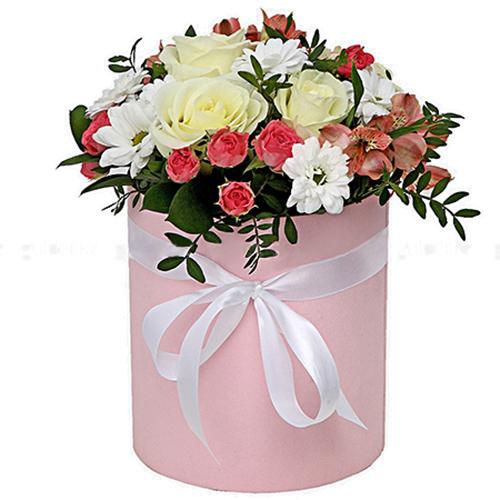 "Фото товара Капелюшна коробка ""Рожева"""