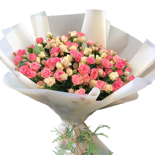 Фото товара 33 кущові троянди