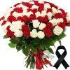 Фото товара 50 белых роз