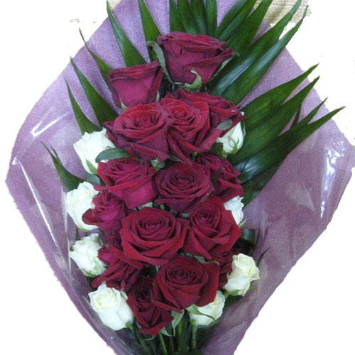 "Фото товара Букет ""Ореол"" 22 троянди"