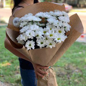 букет ромашковых хризантем Очаровашка фото